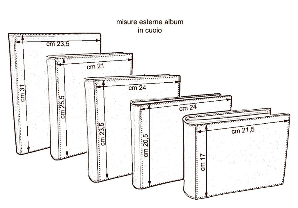 Album-cuoio-misure